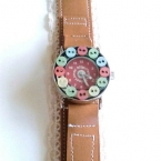 腕時計の手作りベルト