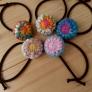 オパール毛糸の編みくるみゴム