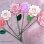 花束ブーケの寄せ書きメッセージカード