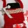 アフガン編み携帯ケース