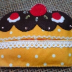 カップケーキのティッシュケース☆