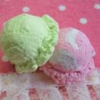 超簡単な紙粘土製アイス☆