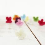 ソフトクレイで作る小花