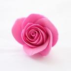 ソフトクレイで作るバラ