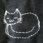 猫のイラスト図案