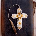 祖母の十字架の栞