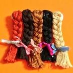 三つ編みバレッタ
