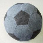 +++はぎれで室内用サッカーボール+++