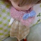 お人形のminiマフラー♪
