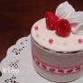 ケーキの小物入れ