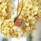 mini BOOK   革のネックレス