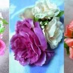お花のバレッタ。