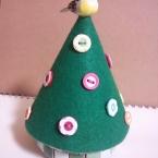 ミニタイルツリー(花ボタン)