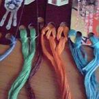 刺繍糸のおうち