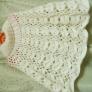 透かし編みポンチョ
