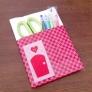 簡単ポケット付のノートカバー