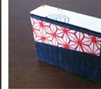 磁石を使った金魚の和柄のカードケース