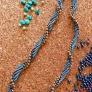 ターコイズカラーのネックレス