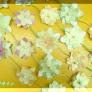 和紙のお花カーテン