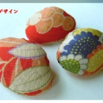 和の布遊び    「貝の飾り」