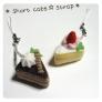 ショートケーキ☆ストラップ♪