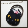 黒猫のミニバッグ♪