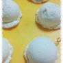 紙粘土でアイスクリーム