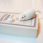 ネズミの編みぐるみ