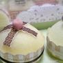 スポンジでふんわりプチカップケーキ☆