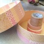 マスキングテープのボックス
