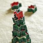 マスキングテープでクリスマスツリー☆パーティにも☆