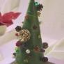 グリーンでクリスマスツリー♪