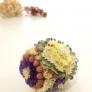 リーフパンチとお花のエッグアート