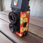 二眼レフカメラをデコしました(Vol.1)