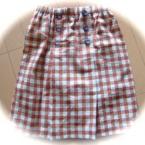 ボックスプリーツこどもスカート