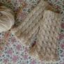 毛糸1玉で作るハンドウォーマー