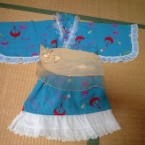 浴衣ドレス(リメイク