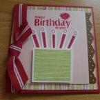 Happy Birthday Card Pt1