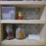 端材で小さな飾り棚