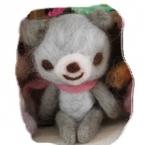 羊毛フェルトのお人形