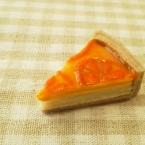 針糸不使用オレンジのタルト