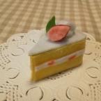 針糸不使用ミニイチゴショートケーキ
