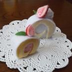 針糸不使用ミニミニロールケーキ