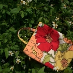 ハギレで作れる『little bag』