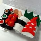 バザー用寿司セット(海苔巻き・ガリ・いくら)作り方