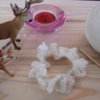 毛糸のフリフリシュシュ