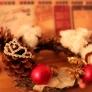 簡単クリスマスリース