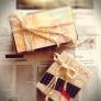 セリアのクラフト折り紙で紙箱をリメイク!