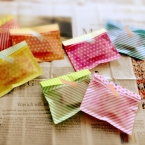簡単ラッピング! 100均折り紙で透け感のある封筒