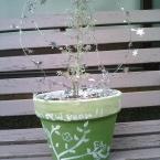 簡単!可愛い!やす~い!植木鉢♪